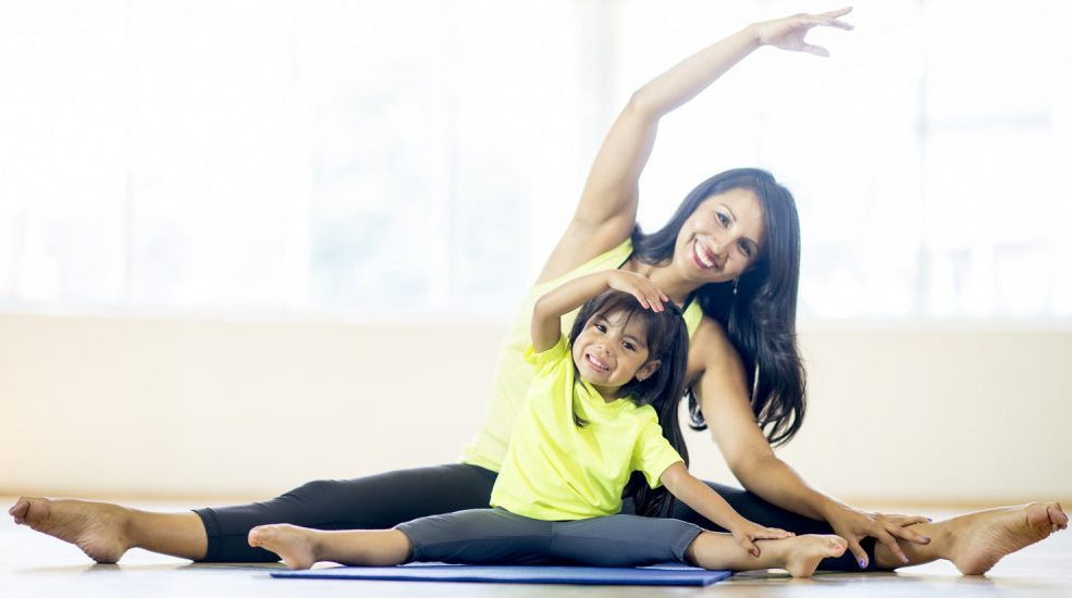 Mommy and Me Yoga (kids 2-6)- 4 Sessions | She Thrives